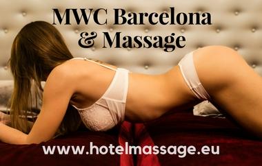 MWC Barcelona massage